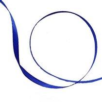 Атласная лента, цвет ультрамарин, 6мм