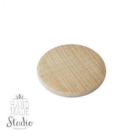 Деревянная пластинка 4 см