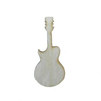 Деревянная заготовка Гитара, 10х4,5 см