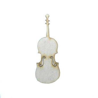 Деревянная заготовка Скрипка, 12х4,3 см