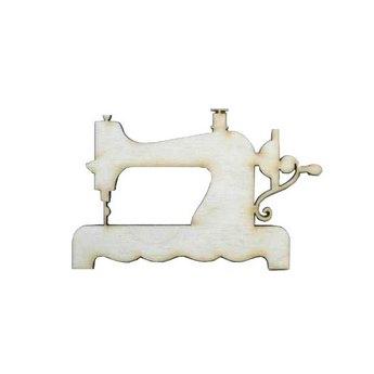 Деревянная заготовка Швейная машинка, 10х6,5 см