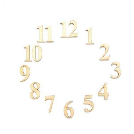 """Набор цифр для часов """"Арабские""""  (от 0 до 12 )  5 см"""