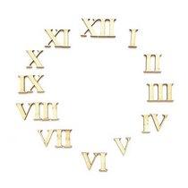 """Набор цифр для часов """"Римские"""" ( от 0 до 12 )  3 см"""