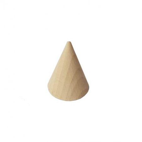 Конус деревянный, 4,5х3 см
