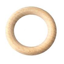 Кольцо деревянное неокрашенное, 4,2 см