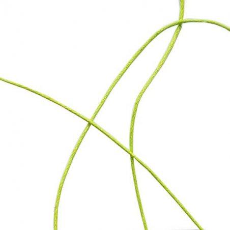 Вощеная нить, цвет салатовый, 1 мм