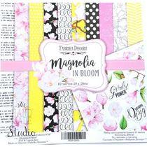 "Набор двусторонней бумаги 20х20 см ""Magnolia IN BLOOM"" 10шт"