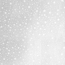 """Веллум полупрозрачный """"Звезды"""", плотность 115г/м2 , 21х29,7 см. (А4), цвет белый"""