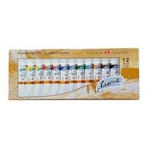Набор масляных красок Ладога (Невская палитра), 12*18 мл