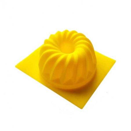 Силиконовая форма для мыла Кекс фигурный, 7х3 см