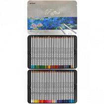 """Набор цветных карандашей """"Raffine"""" в металлическом пенале, 50шт"""