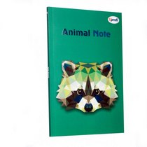 "Блокнот №015 ""Animal Note"" green, А5, 80л."