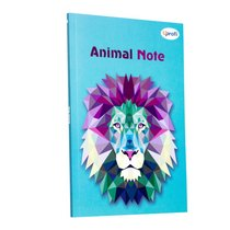 "Блокнот №022 ""Animal Note"" mint, А5, 80л."