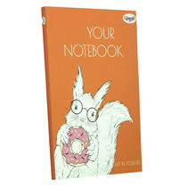 """Блокнот №254 """"Artbook"""" orange, А5, 128л."""