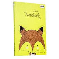 """Блокнот №445 """"Artbook"""" lime, B6, 128л."""