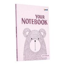 "Блокнот №872 ""Artbook"" light pink, B6, 128л."