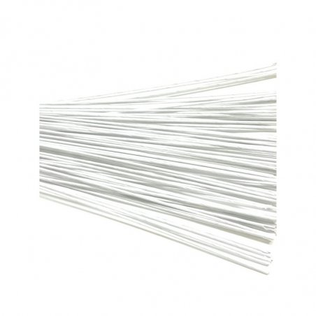 Проволока для стволов белая в тейп-обмотке, диаметр - 0,9 мм, 10 штук