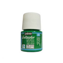 Краска по светлым тканям Tissus clairs Setacolor Pebeo №04 Зеленый газон, 45мл.