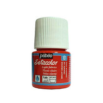 Краска по светлым тканям Tissus clairs Setacolor Pebeo №101 Ярко-оранжевый, 45мл.