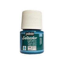 Краска по светлым тканям Tissus clairs Setacolor Pebeo №30 Бирюзовый, 45мл.