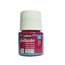 Краска по светлым тканям Tissus clairs Setacolor Pebeo №49 Фуксия, 45мл.