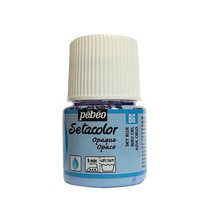Краска для темных тканей  Setacolor Opaque Pebeo №86 Небесно-голубой, 45мл.