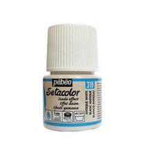 Краска для ткани  Setacolor Suede effect Pebeo №319 Античный белый, 45мл.