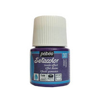 Краска для ткани  Setacolor Suede effect Pebeo №307 Фиолетовый, 45мл.