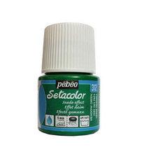Краска для ткани  Setacolor Suede effect Pebeo №312 Зеленый, 45мл.