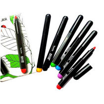 "Набор маркеров для ткани ""Loppstarr"" IKEA, 6 цветов"