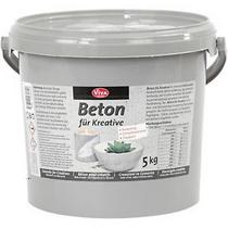 Мелкозернистая сухая смесь для приготовления декоративного бетона VIVA, 5 кг