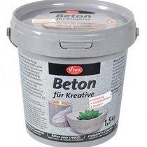 Мелкозернистая сухая смесь для приготовления декоративного бетона VIVA, 1,5 кг