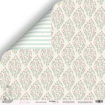 """Лист двусторонней бумаги 30,5x30,5 """"Цветочный ковер"""" из коллекции Purr PURR,  190г/м2, 1 лист"""