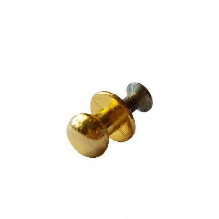 Ручка металлическая К-307, цвет золото 1,2 см (1шт.)