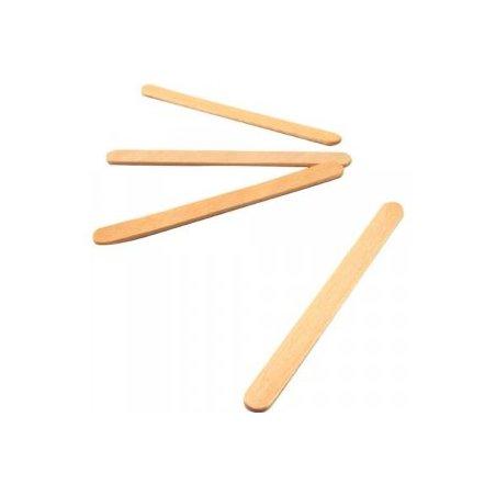 Деревянные палочки для мороженого 11,5х1 см, 10 шт