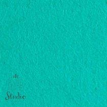 Фетр жесткий 1 мм, цвет бирюзово-зеленый