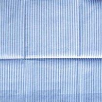 """Отрез бязи """"Мелкие полосочки """" 2,5 мм серые, 40х50 см"""