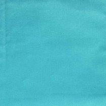 Отрез однотонной польской бязи, цвет светло-бирюзовый, 40х50 см