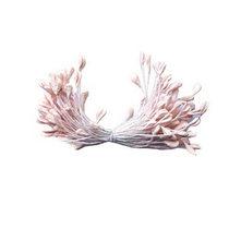 Цветочные пастельные тычинки, цвет нежно-розовый