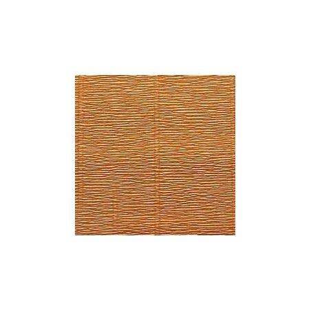 Креп-бумага (гофро-бумага) Италия, плотность - 180г/м², 50смх2,5м, №567 ореховый