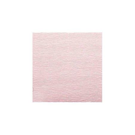 Креп-бумага (гофро-бумага) Италия, плотность - 180г/м², 50смх2,5м, №548 розово-персиковый