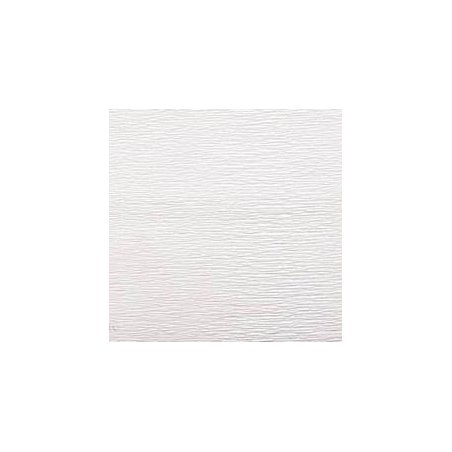 Креп-бумага (гофро-бумага) Италия, плотность - 180г/м², 50смх2,5м, №600 белый
