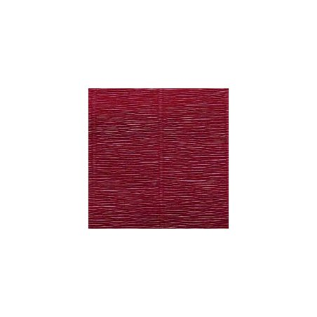 Креп-бумага (гофро-бумага) Италия, плотность - 180г/м², 50смх2,5м, №588 сливовый