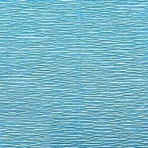 Креп-бумага (гофро-бумага) Италия, плотность - 180г/м², 50смх2,5м, №556 лазурный