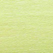 Креп-бумага (гофро-бумага) Италия, плотность - 180г/м², 50смх2,5м, №566 светло-салатовый