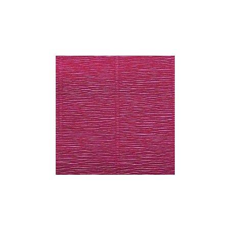 Креп-бумага (гофро-бумага) Италия, плотность - 180г/м², 50смх2,5м, №547 малиновый