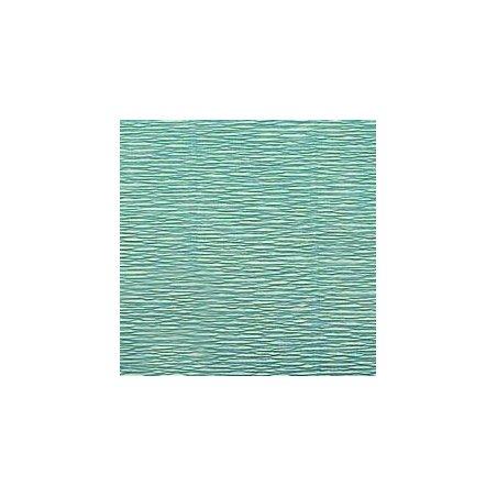 Креп-бумага (гофро-бумага) Италия, плотность - 180г/м², 50смх2,5м, №17Е/4 изумрудный