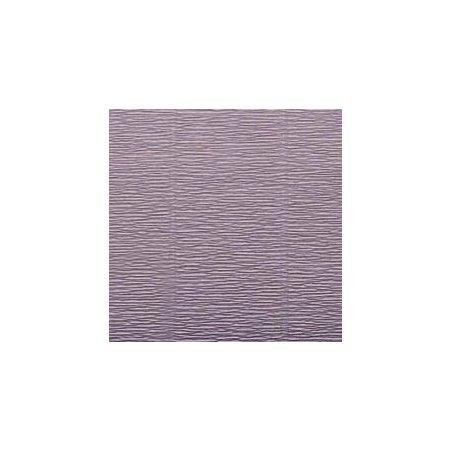 Креп-бумага (гофро-бумага) Италия, плотность - 180г/м², 50смх2,5м, №16А/7 пыльный фиолетовый