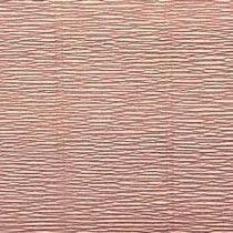 Креп-бумага (гофро-бумага) Италия, плотность - 180г/м², 50смх2,5м, №17А4 Nude