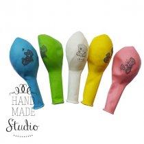 """Воздушный шарик с рисунком """"Me to you-12 (30 см)"""", цвет в ассортименте, 1 шт"""